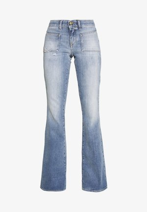 D-EBBEY-X - Bootcut jeans - blue denim