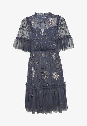 ETHER MINI DRESS - Vestido de cóctel - midnight