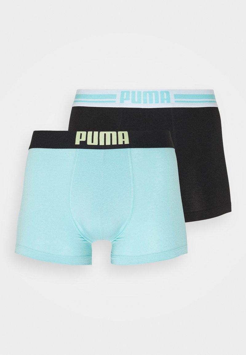 Puma - MENS BASIC TRUNK 2 PACK - Culotte - blue/black
