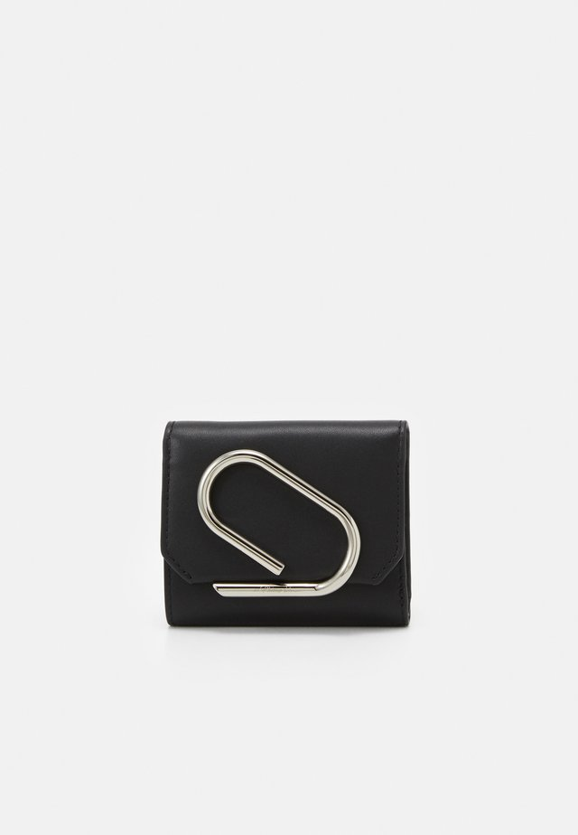 ALIX SMALL FLAP WALLET - Plånbok - black