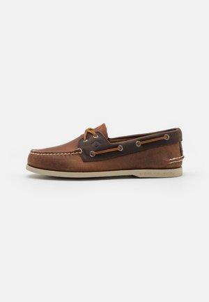 2-EYE WILD HORSE SONORA RIVERBOAT - Boat shoes - brown/dark brown