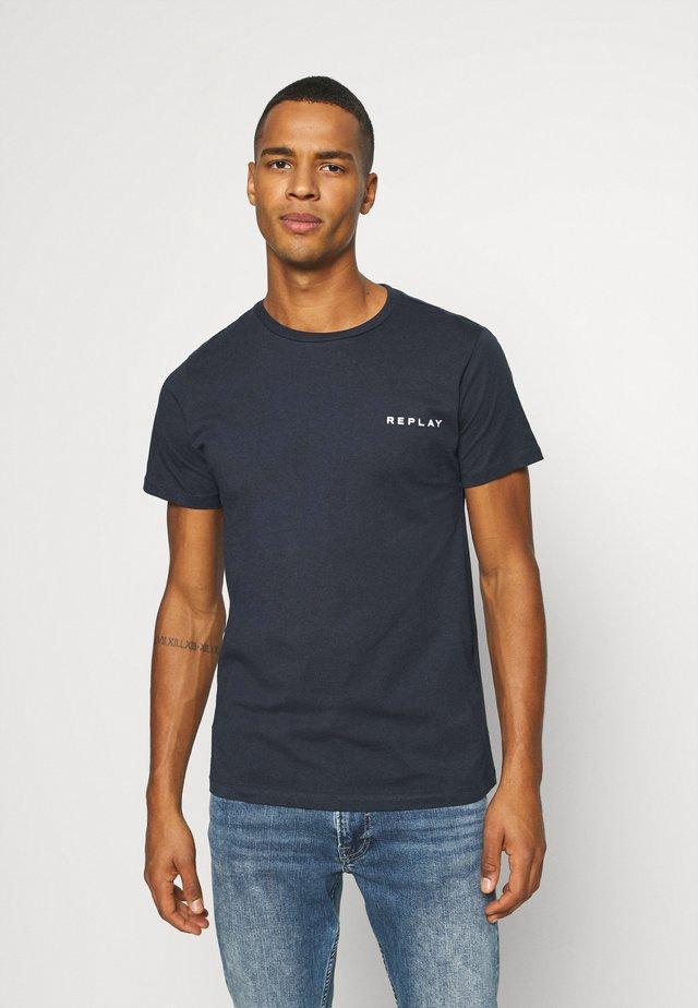 TEE - Basic T-shirt - blue