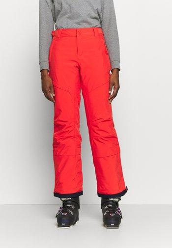 KICK TURNER INSULATED PANT - Ski- & snowboardbukser - bold orange