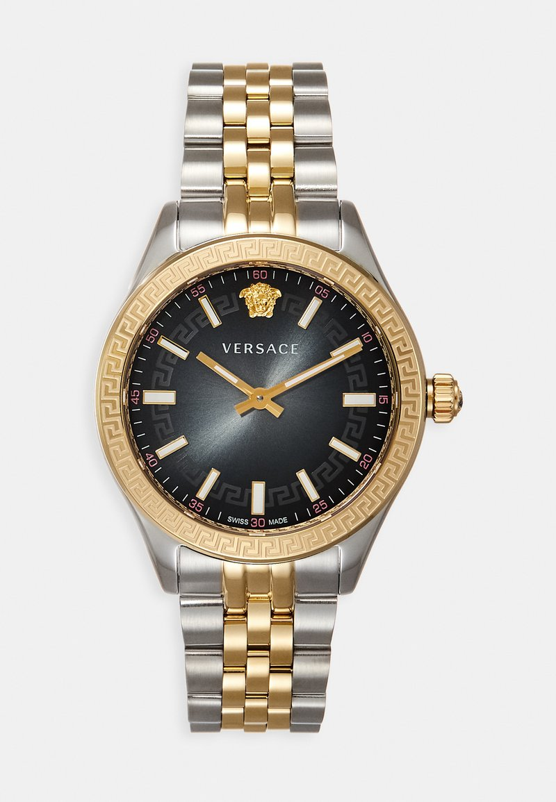 Versace Watches - HELLENYIUM - Hodinky - silver-coloured/gold-coloured