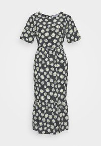Dorothy Perkins Petite - DAISY SPOT MIDI DRESS - Denní šaty - black - 6