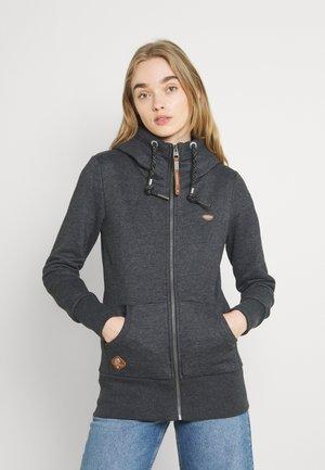 NESKA ZIP - Zip-up sweatshirt - black