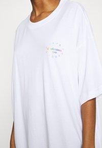 Weekday - HUGE DRESS - Jerseykjole - white - 4