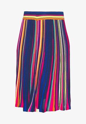 STRIPED SKIRT - A-line skirt - pink