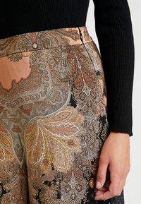 Thurley - MAGIC PALAZZO PANT - Trousers - black/arabian nights - 5