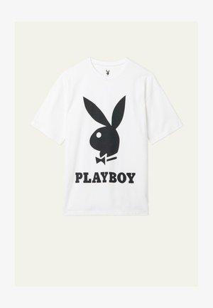 PLAYBOY - Print T-shirt - bianco st.playboy