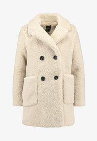 New Look Petite - LEAD IN BORG COAT - Cappotto invernale - cream - 4