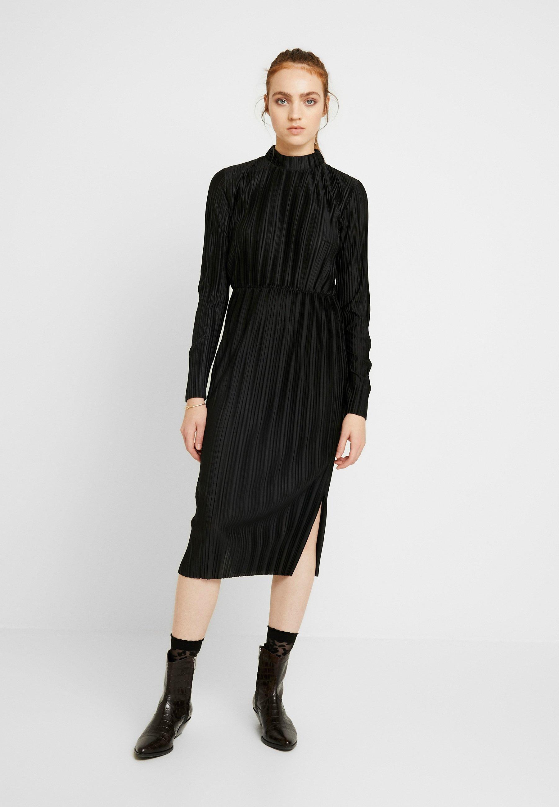 MIALINA DRESS Vapaa ajan mekko black