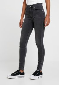 Levi's® - MILE HIGH SUPER SKINNY - Vaqueros pitillo - smoke show - 0