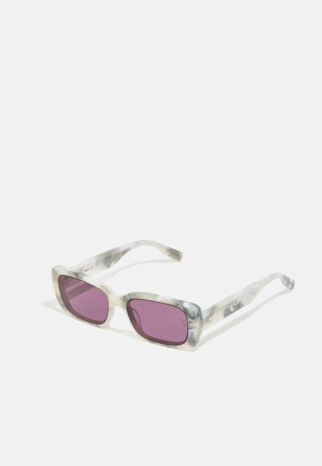 Solglasögon - white/violet