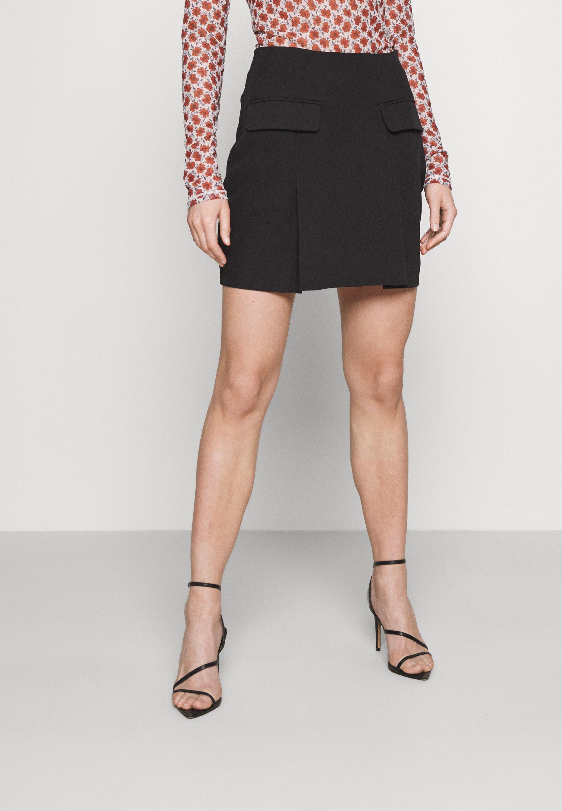 Femme COORD TAILORED POCKET DETAIL - Minijupe
