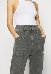 10DAYS - HIGH WAIST  - Relaxed fit jeans - grey - 7