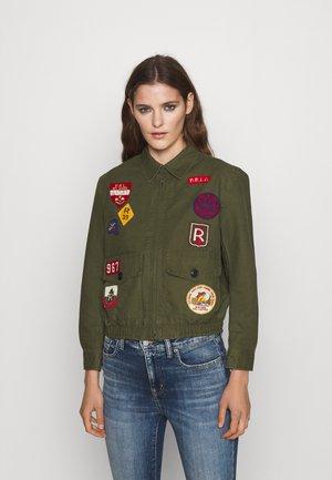Summer jacket - army green