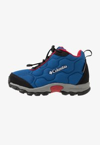 Columbia - FIRECAMPMID - Hiking shoes - royal/ rocket - 1