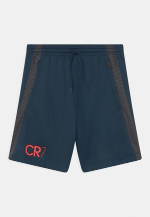 CR7 UNISEX - Urheilushortsit - armory navy/anthracite/black