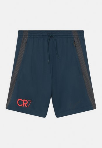 CR7 UNISEX - Sports shorts - armory navy/anthracite/black