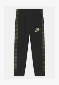 Nike Sportswear - GLOW IN THE DARK UNISEX - Tracksuit bottoms - black - 0