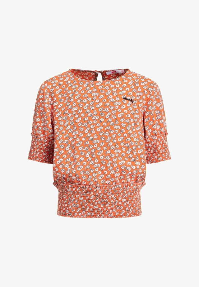 Blouse - coral pink
