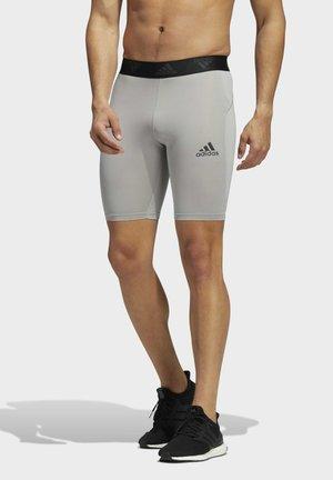 TURF TRAINING WORKOUT TECH-FIT AEROREADY PRIMEGREEN TECHFIT SHORT LEGGINGS COMPRESSION - Shorts - grey