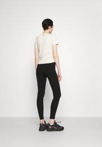 Max Mara Leisure - BAHAMAS - Leggings - Trousers - black - 2