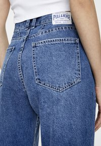 PULL&BEAR - Straight leg jeans - light blue - 3