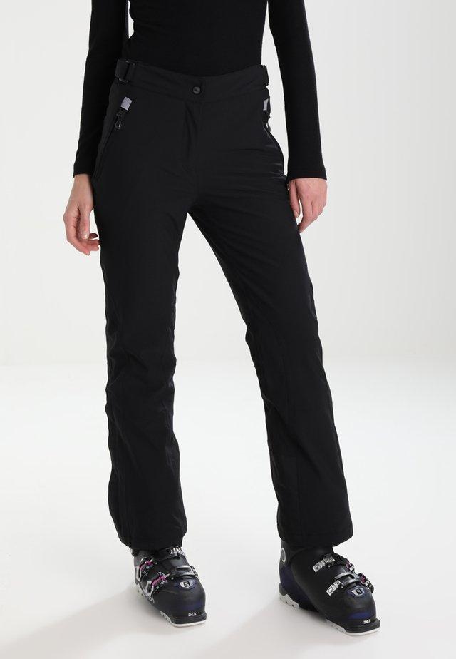 WOMAN SKI PANT - Pantalon de ski - nero