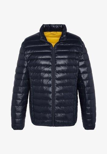Winter jacket - shiny navy