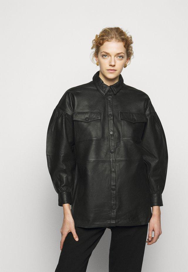 PETRAH ELOISA - Button-down blouse - black