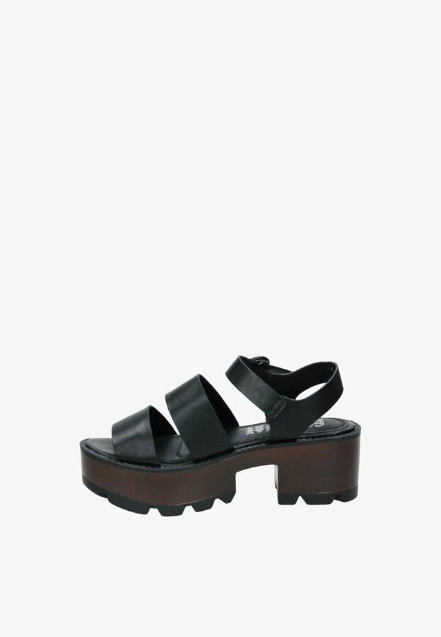 Sandales à plateforme - black