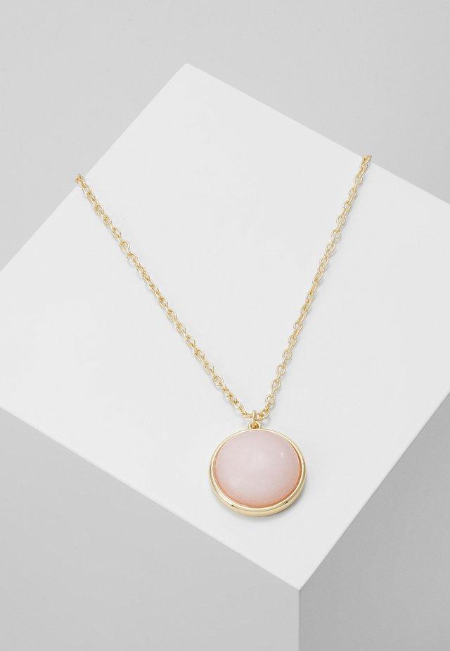 AGATHA PENDANT NECK - Ketting - pink