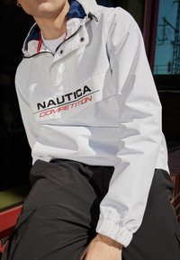 NAUTICA COMPETITION - COWL - Windbreaker - white - 2