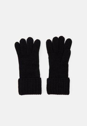 SHAKER CABLE GLOVE UNISEX - Rękawiczki pięciopalcowe - black