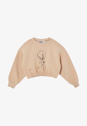 TWEETY - Sweatshirt - beige
