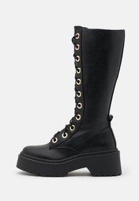 River Island - Lace-up boots - black - 1