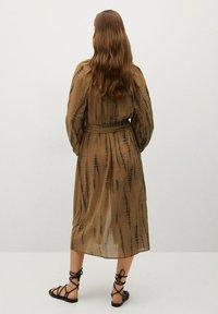 Mango - Shirt dress - braun - 1