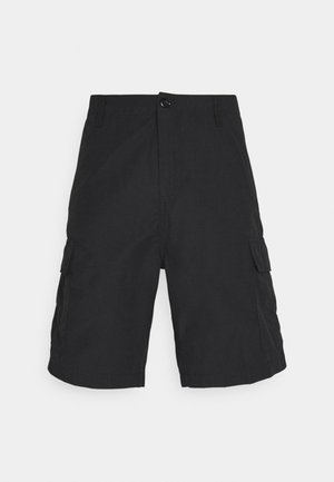 FIELD CARGO PASADENA - Shortsit - black rinsed