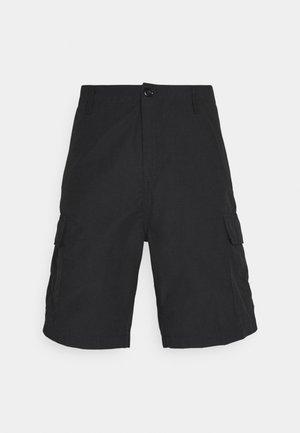 FIELD CARGO PASADENA - Shorts - black rinsed