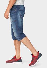 TOM TAILOR - MAX BERMUDA  - Denim shorts - mid stone wash denim - 3