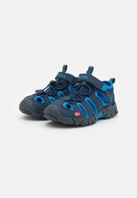 TrollKids - KIDS KRISTIANSAND UNISEX - Chodecké sandály - navy/medium blue - 1