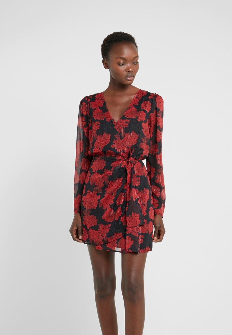 The Kooples - ROBE COURTE - Vestito elegante - red/black