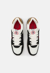 Polo Ralph Lauren - TRCKSTR PONY UNISEX - Sneakers laag - black/creme/red - 3