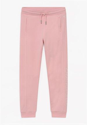 LOGO - Pantalones deportivos - pink