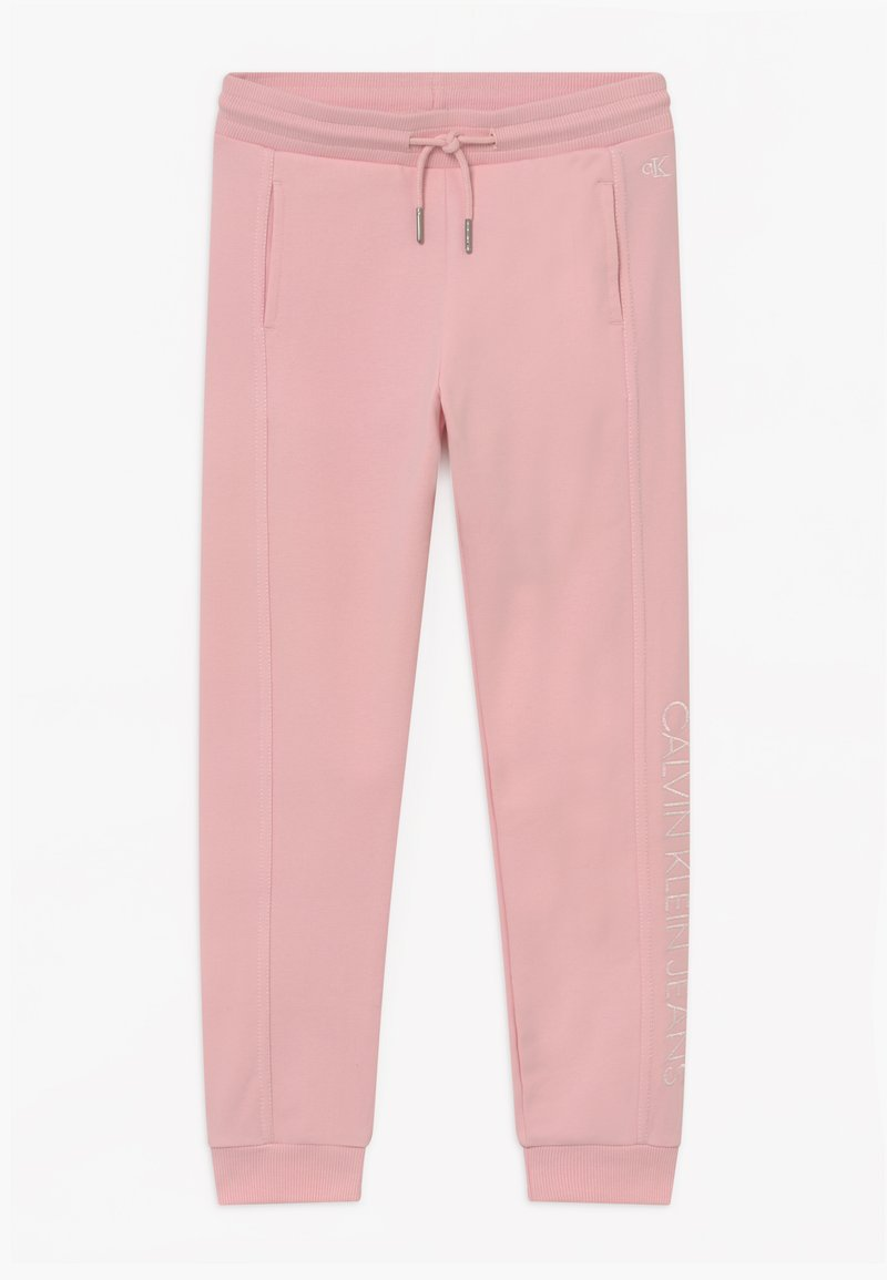 Calvin Klein Jeans - LOGO - Tracksuit bottoms - pink