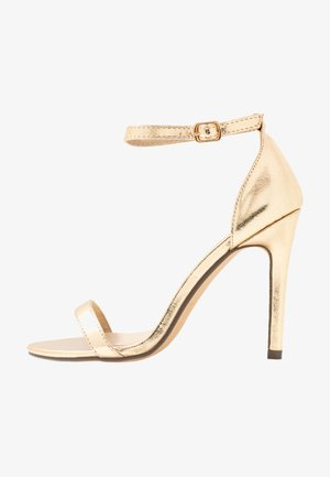 JASMINE - High heeled sandals - gold