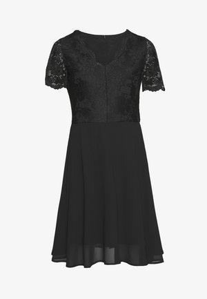 VMMINA SHORT DRESS - Vestito estivo - black