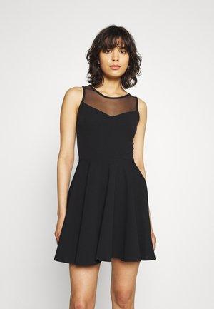TANNI SKATER DRESS - Day dress - black
